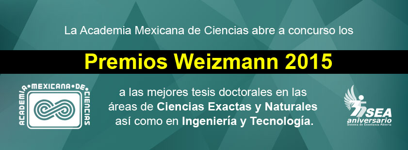 Premios Weizmann 2015