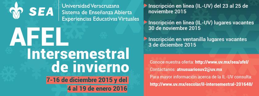Oferta Académica AFEL Invierno 2016