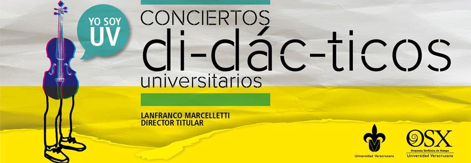 Conciertos Didácticos Universitarios