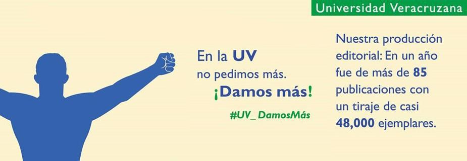 En la UV no pedimos más. ¡Damos más! #UV_damosMás
