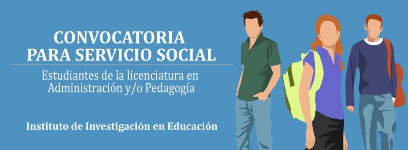 Convocatoria para Servicio Social