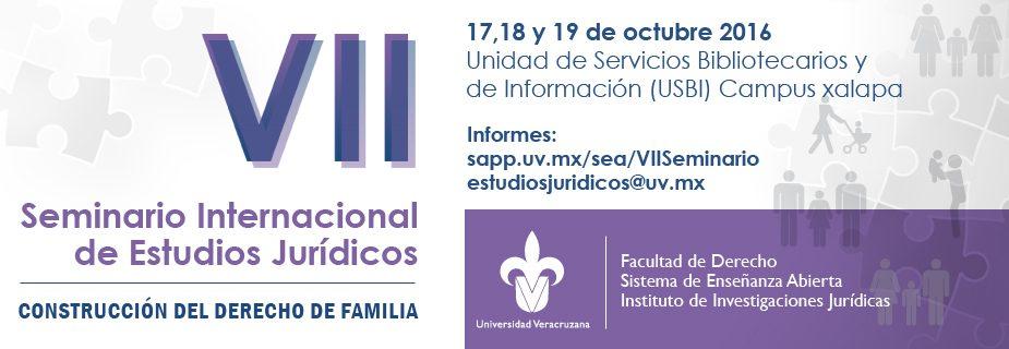 VII Seminario Internacional de Estudios Jurídicos - Construcción del Derecho de Familia