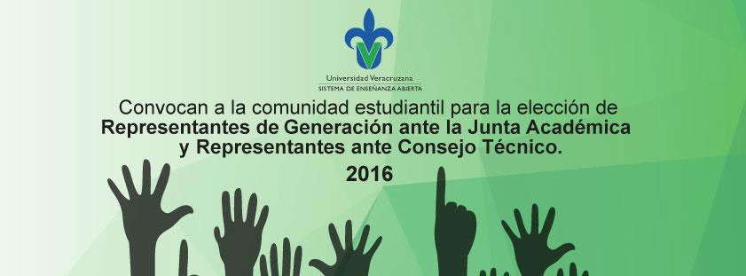 Convocatoria: Representantes de Generación ante la Junta Académica y Representantes ante el Consejo Técnico