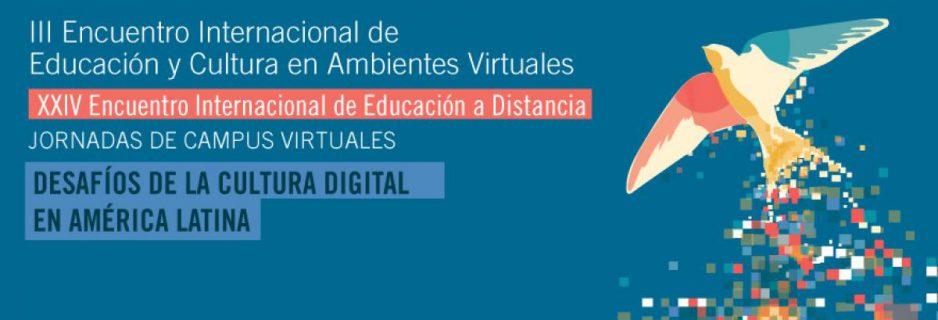 Invitación al XXIV Encuentro Internacional de Educación a Distancia