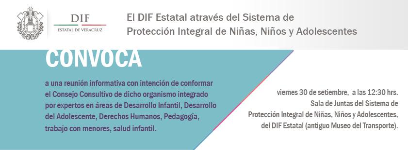 Convocatoria para integrar el Sistema de Protección Integral
