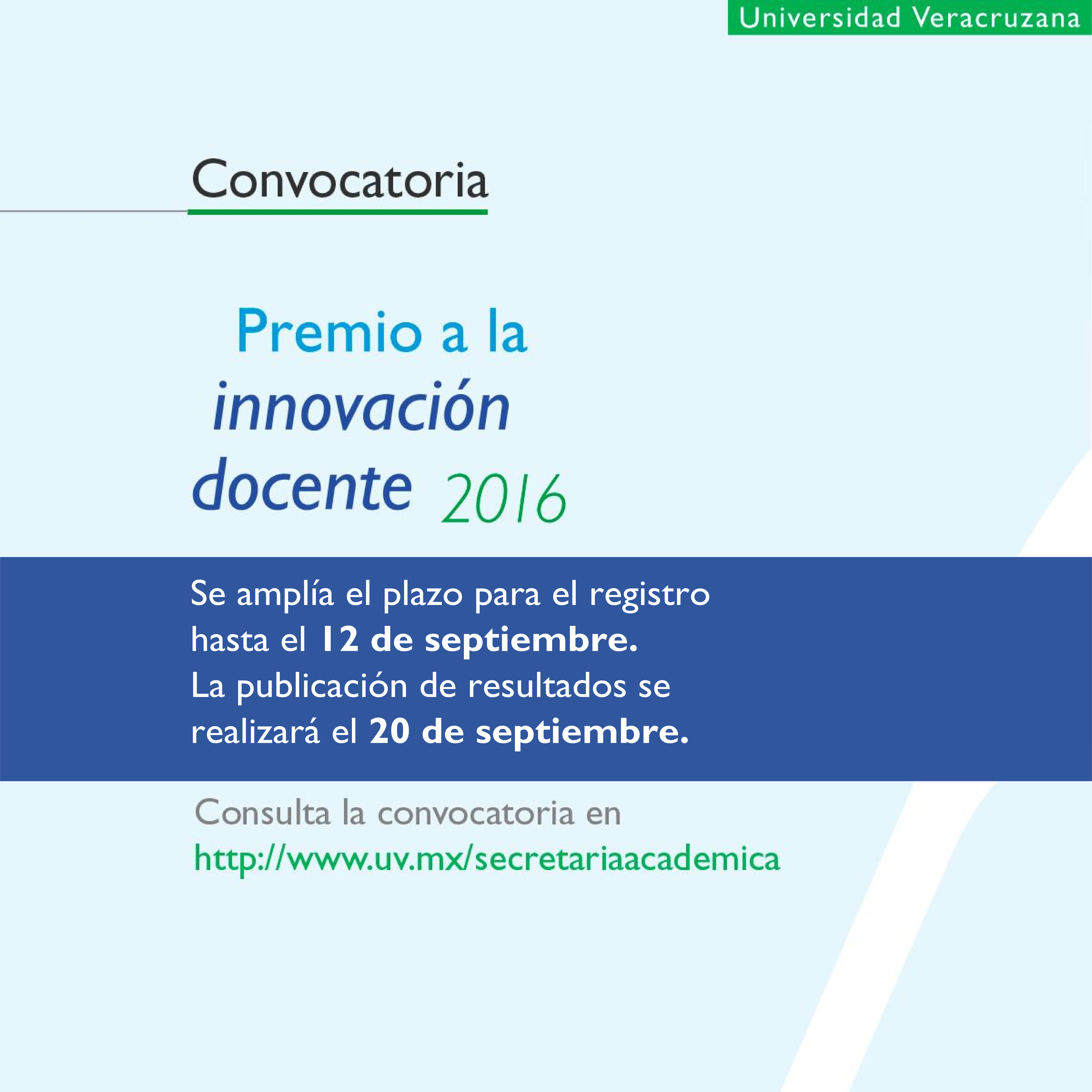 Convocatoria premio a la innovaci n docente secretar a for Convocatoria para docentes 2016