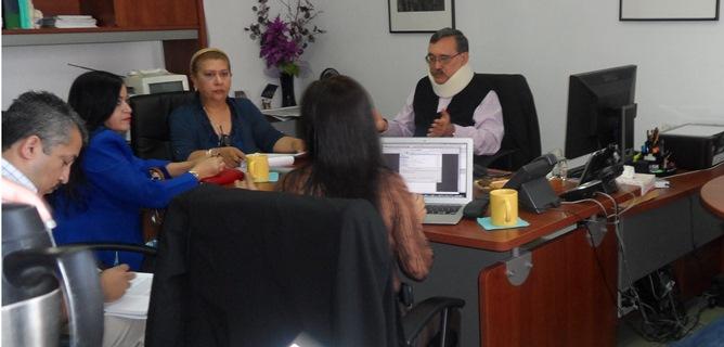 Reuni n de trabajo con integrantes de la dgti y personal for Oficina proteccion datos