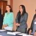 Shantal Meseguer, María José García, Rebeca Hernández y Mercedes López