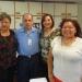 Idalia Illescas, René Espinosa, Laura Elena Sobrino y Marcela Rosas