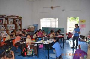 Niños del ejido Tigrillos reciben talleres de educación ambiental