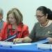 María Elena Medina y Sara Ladrón de Guevara signaron el documento