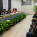 Autoridades universitarias durante la presentación del documento