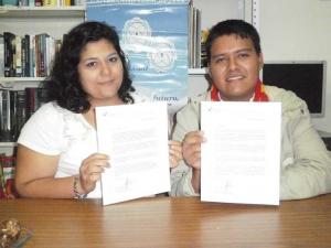 Yolanda Gómez y Jorge Manuel Vásquez
