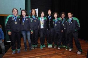Integrantes del equipo de futbol femenil