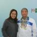 Con Maribel Barradas, titular de la DADUV