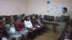 Universitarios impartieron diversos talleres en El Paisano