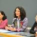 María Eugenia Guadarrama, Andrea Medina y Leticia Rodríguez