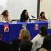 Evangelina Montes, Eli Garcimarrero y Christian Ortiz fueron las presentadoras