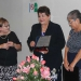 Carmen Blázquez, la homenajeada y María Luz Márquez
