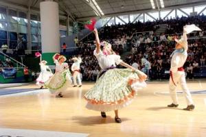 El Ballet Folklórico también participó