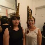 Scarleth Alvarado y Adriana Rico, de Arquitectura