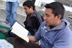 Los universitarios compartieron sus libros favoritos