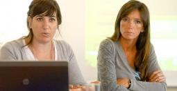 Irene Ascaini y Natalia Lucesole