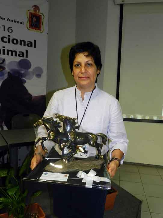 María de Lourdes Alonso Spilsbury fue reconocida por su trayectoria