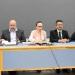 Leticia Rodríguez Audirac y directores generales de áreas académicas