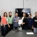 Genaro Rebolledo y Karem Contreras signaron el convenio
