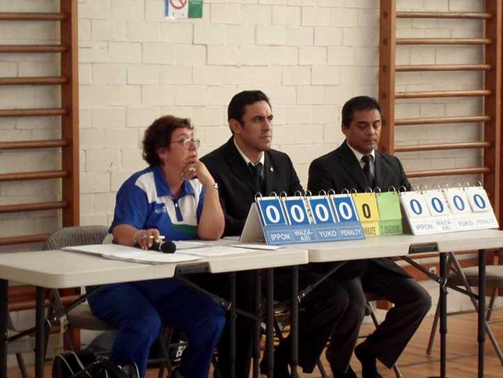 La entrenadora Juliana Palma Valerio supervisó el desarrollo del evento