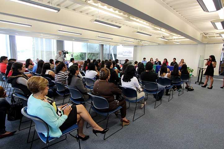 La presentación tuvo lugar en la USBI Xalapa