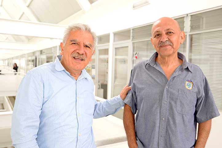 Ragueb Chaín y Juan Carlos Ortega