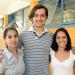 Luz Eugenia Rubio, David Alfonso Quijano y Andrea Palmeros