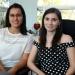 Vianey Guadalupe Argüelles e Hilda Montero, del ISP