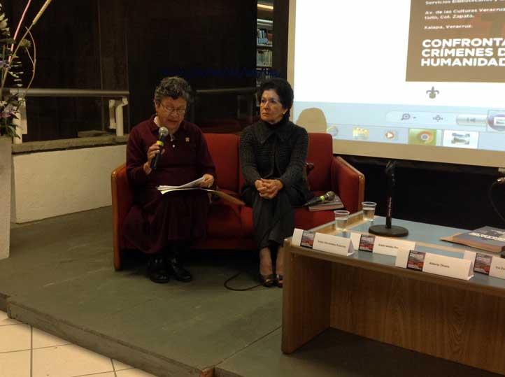 Esther Hernández y Edith Valdez