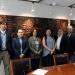 Autoridades y académicos universitarios recibieron a miembros de la asociación