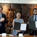 Sara Ladrón de Guevara y Enrique Manuel Márquez firmaron el documento
