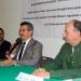 Rafael Díaz Sobac dio la bienvenida a la delegación norteamericana