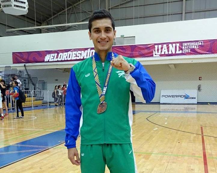 Luis Antonio Aguilar, bronce en taekwondo