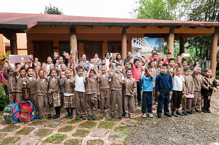 Alumnos de primaria participaron en la primera jornada