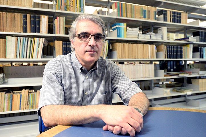 Alain Boutet, de la Universidad de Dalhousie, Canadá