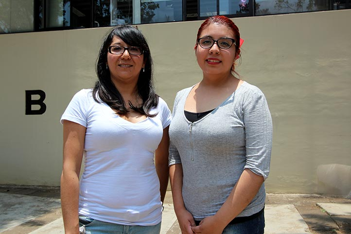 Rosaura Yeimi Pedraza y Silvia Angélica Tepetla