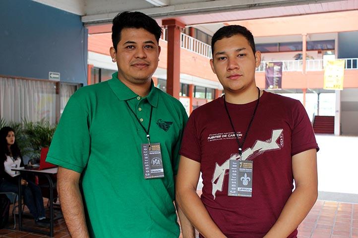 Fernando Flores y Alfredo Romero