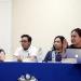 Ruth Ferrer, Christopher Juárez, Cecilia Barragán y Amaranta Gómez