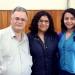 Integrantes del equipo de Auditoría y su asesor Julio Alonso Iglesias