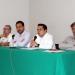 Guillermo Hoyos, Carlos Piña, Ángel Juan Sánchez y Elio Villaseñor