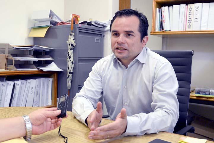 Luis Manuel Fernández Sánchez, secretario de la Facultad