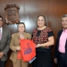 Rodolfo Mendoza, Rosalía Castro, Sara Ladrón de Guevara y Gerardo García