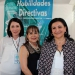 Dulce Janeth López, Rosa Ela Gutiérrez y Prisca Nahúm